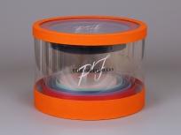 <p><strong><em>Комплект круглых прозрачных коробок.</em></strong></p>