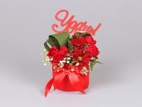 <p>Образец коробки с цветами</p> <p>&nbsp;</p>