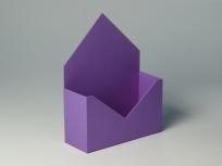 """<p><strong><em>Материал:</em></strong><em>картон, дизайнерская бумага имитлин (фиолетовый 024)</em></p> <p><em><strong>Технология:</strong>вырубка картона, сборка, каширование бумагой</em></p> <p><em><strong>Размер, мм.:</strong>240 х 90 х 150 мм</em></p> <p><em><strong>Примерная стоимость, руб.:</strong></em></p> <p><em>дизайнерская бумага от<strong>377</strong>(с внутренней оклейкой)</em></p> <p><em><em><em><em><em><em><em><em><em><em><strong><em><em>БЛАНК ЗАКАЗА И ЦЕНЫ<a href=""""http://estetis.ru/files/doc/Blank_zakaza.xlsx"""" target=""""_blank"""">СКАЧАТЬ</a></em></em></strong></em></em></em></em></em></em></em></em></em></em></p>"""