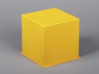 <p><strong><em>Материал:&nbsp;</em></strong><em>картон, дизайнерска бумага эфалин (золотистый 125), изолон, атлас</em></p> <p><em><strong>Технология:</strong>&nbsp;вырубка картона, сборка, каширование бумагой, оформление ложемента под изделие атласом</em></p> <p><em><strong>Размер, мм.:&nbsp;</strong>120х120х150<br /></em></p> <p><em><strong>Актуальность цен уточняйте у менеджеров компании.</strong></em></p> <p>&nbsp;</p>