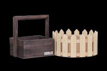 Ящички и заборчики для композиций от 340 руб
