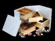 Упаковка для шоколада, конфет, орехов и сухофруктов